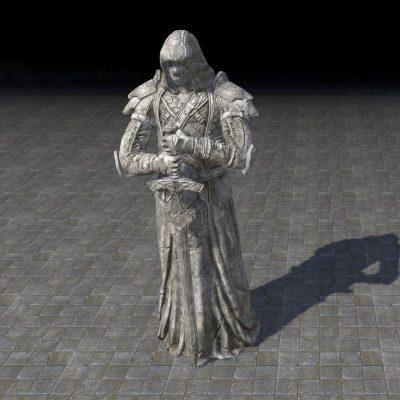 Breton Gravewatcher Statue