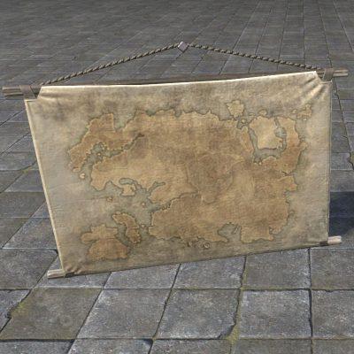 Hanging Map of Tamriel