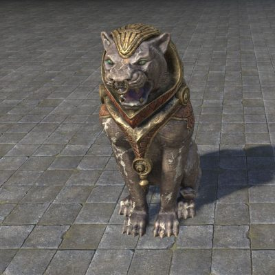 Khajiiti Shrine Guardian Statue