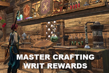 Master Crafting Writ Rewards