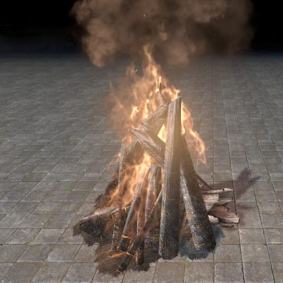 New Life Bonfire