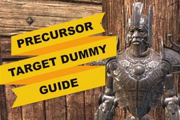 Precursor Target Dummy Guide
