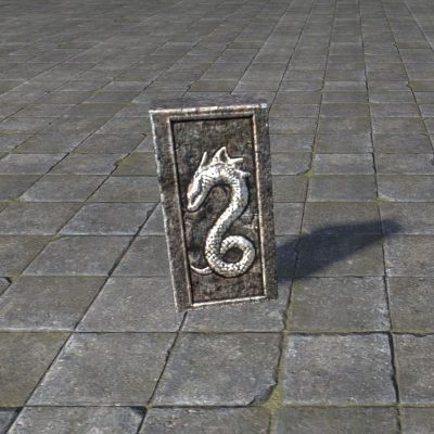 Snake Prayer Tile