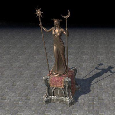 Spirit Warden Azura Statue