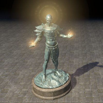Statue of Vivec the Champion