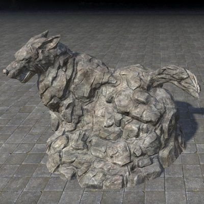 Statue of the Wolf