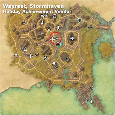 Wayrest Holiday Vendor