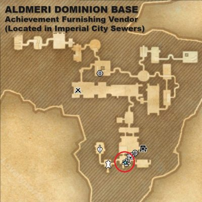 Aldmeri Dominon Base in Imperial City