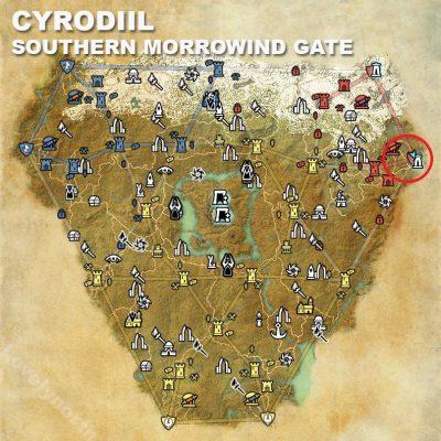 Cyrodiil, Southern Morrowind Gate
