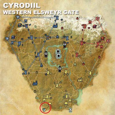 Cyrodiil Western Elsweyr Gate