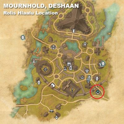 Mournhold Rolis Location