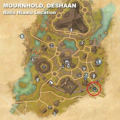 Mournhold Rolis Location