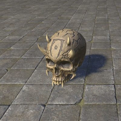 Skull of the Pit Daemon