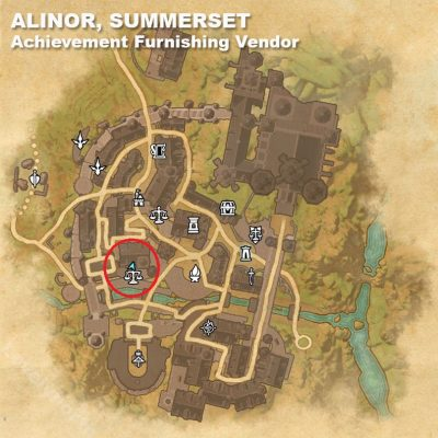 Alinor Achievement Vendor