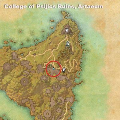 College of Psijics Ruins Artaeum