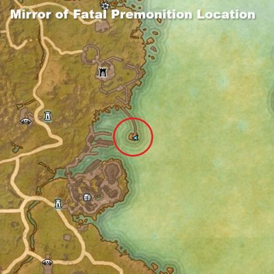 Mirror of Fatal Premonition Location