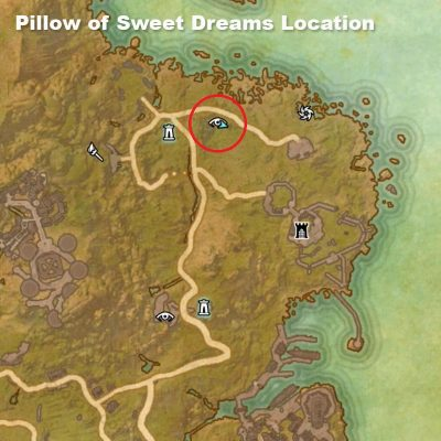 Pillow of Sweet Dreams Location