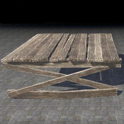Platform, Weathered Dock