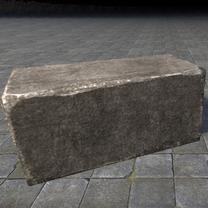 Rough Block, Dark Stone