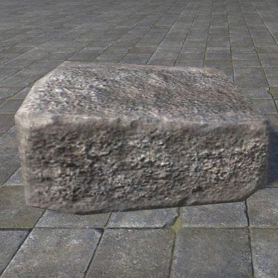 Rough Block, Stone Chunk