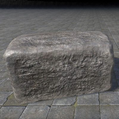 Rough Block, Stone Section