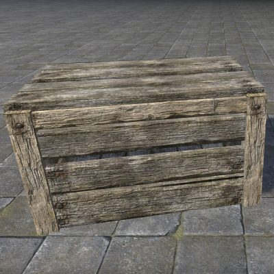 Rough Crate, Empty