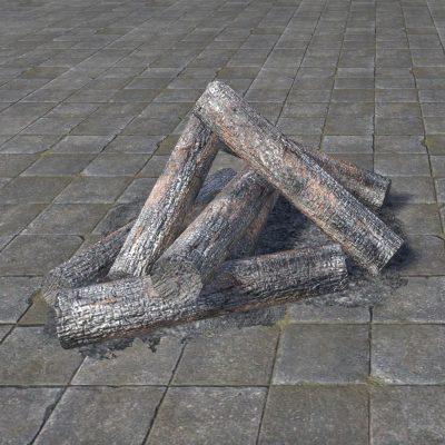 Rough Firewood, Smoldering