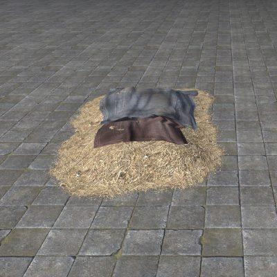 Rough Hay Bed, Tidy