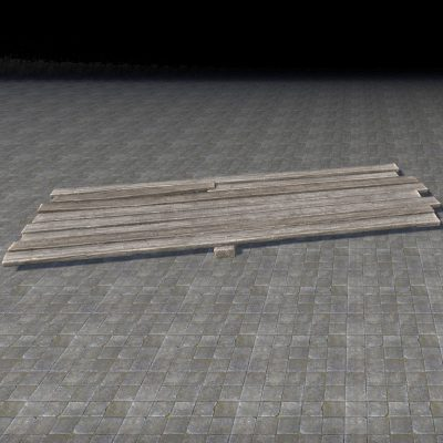 Rough Planks, Wide