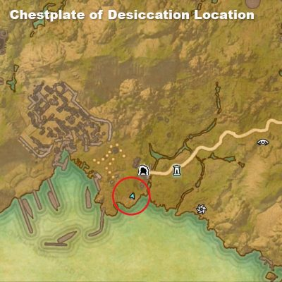 Chestplate of Desiccation Location