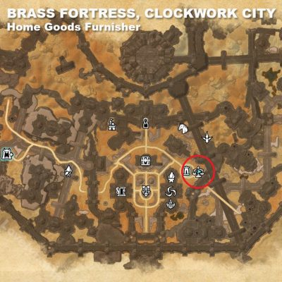 Brass Fortress Home Goods Furnisher
