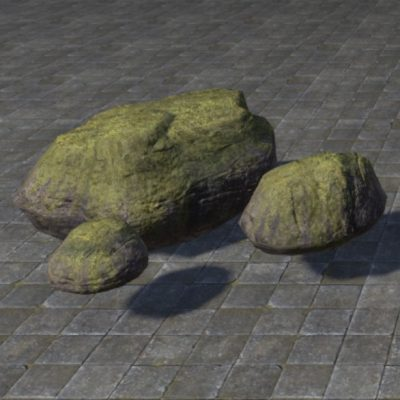 Rocks, Mossy Cluster