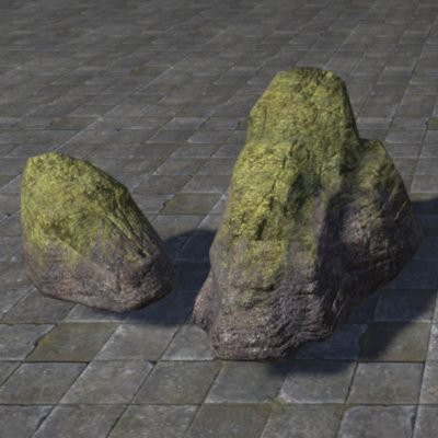 Rocks, Mossy Set