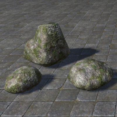 Stones, Gray Swampy