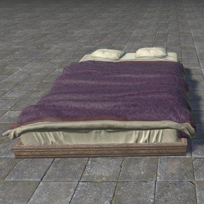 Pattern Alinor Bed, Levitating