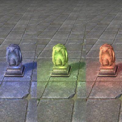 Hlaalu Salt Lamp, Enchanted