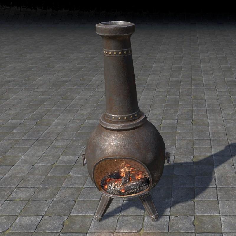 hlaalu stove, chiminea