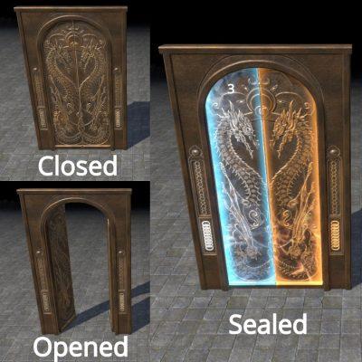 Door, Akatosh Chancel