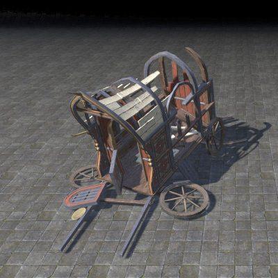 Khajiit Wagon, Ruined