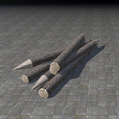 Riverhold Defense Spikes, Piled
