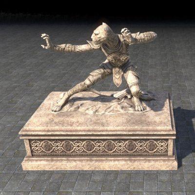 Tojay-Raht Statue, Monk