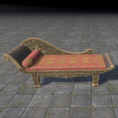 Elsweyr Chaise Lounge, Upholstered