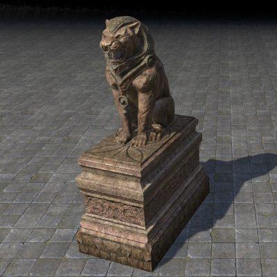 Elsweyr Statue, Shrine Lion