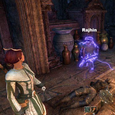 Rahjin's Shadow