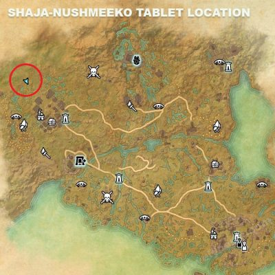 Shaja-Nushmeeko Tablet Location