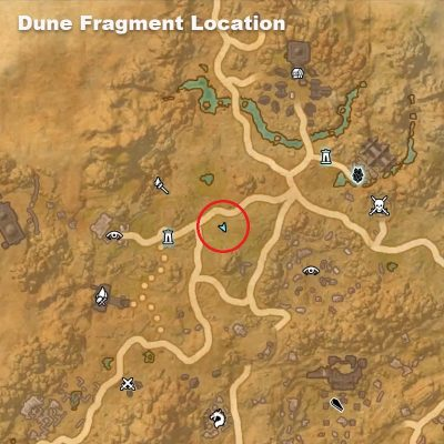Dune Fragment Location