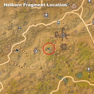 Helkarn Fragment Location