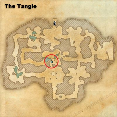 Bruk'ra Fragment Location - The Tangle