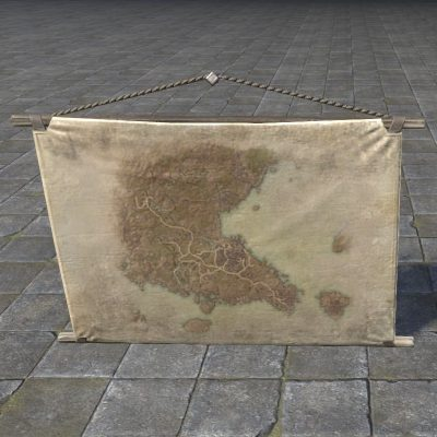Map of Southern Elsweyr, Hanging