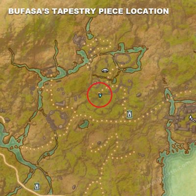 Bufasa's Tapestry Piece Location